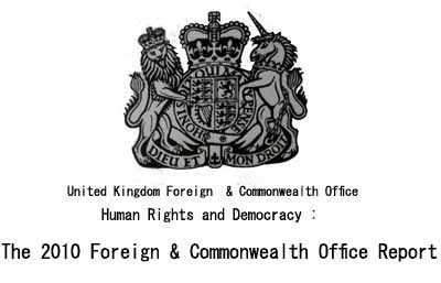 Human Rights and Democracy:The 2010 Foreign & Commonwealth Office Report