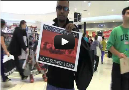 Flash Mob For Eritrea ~ Melbourne, Australia