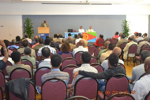 Pictural report : Eritrean National Democratic Change  Seminar in Oakland ,California