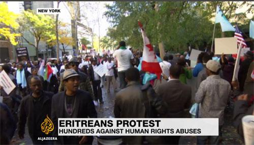 eritrean demo new york 29 10 2015